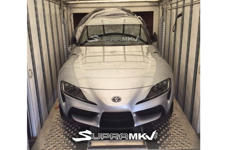 Toyota Supra será revelado em Detroit e a frente é assim
