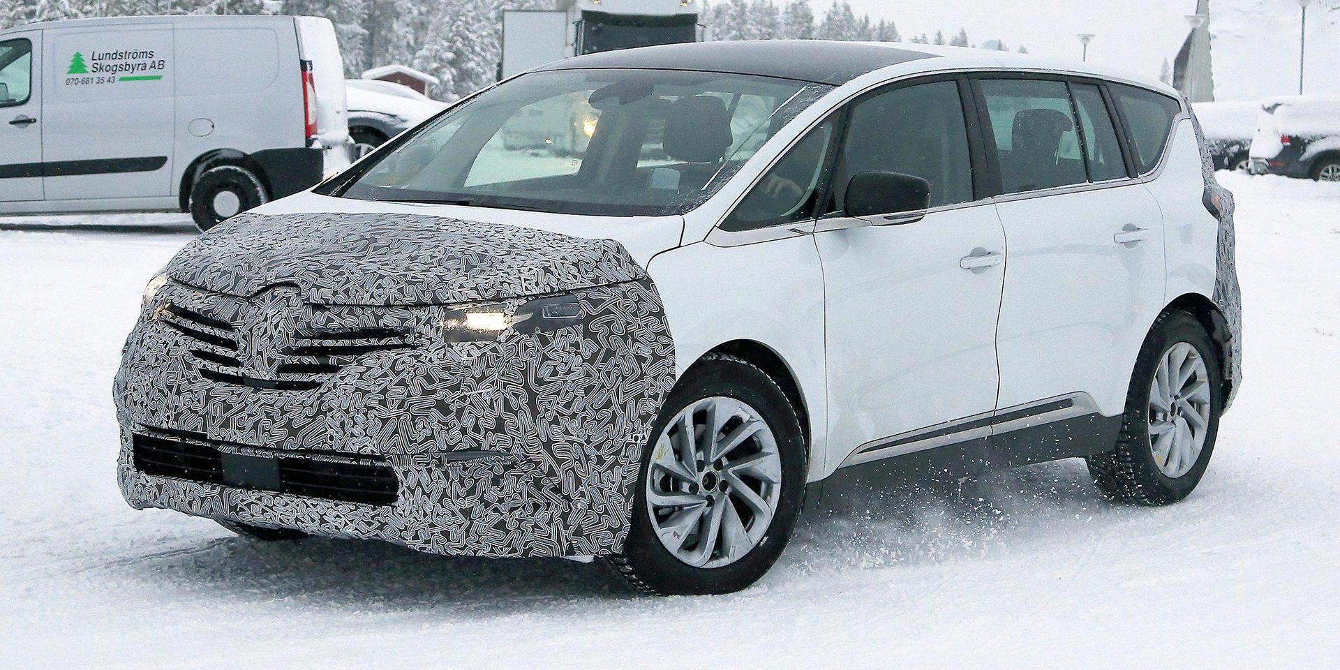 Renault está a preparar a renovação do Espace