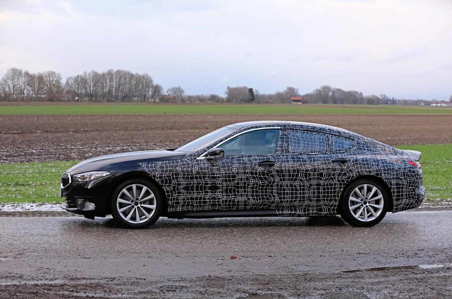 BMW Série 8 Gran Coupe já está nos testes finais de desenvolvimento