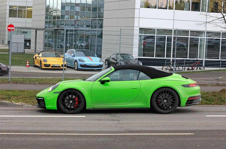 Porsche 911 Cabrio está prontinho a seguir o coupé