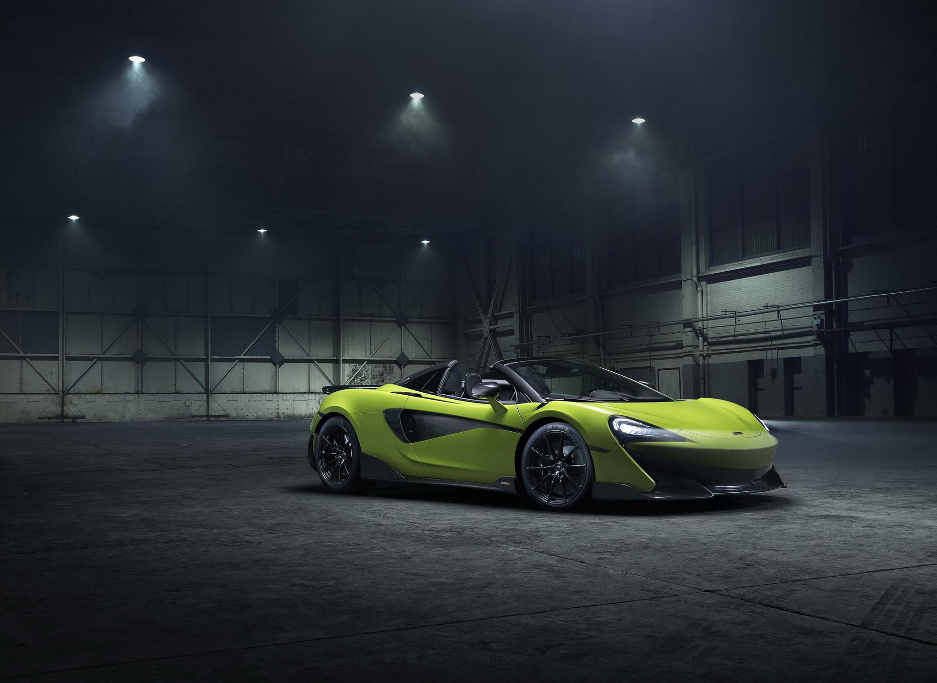 McLaren revela 600 LT Spider com preço de 250 mil euros