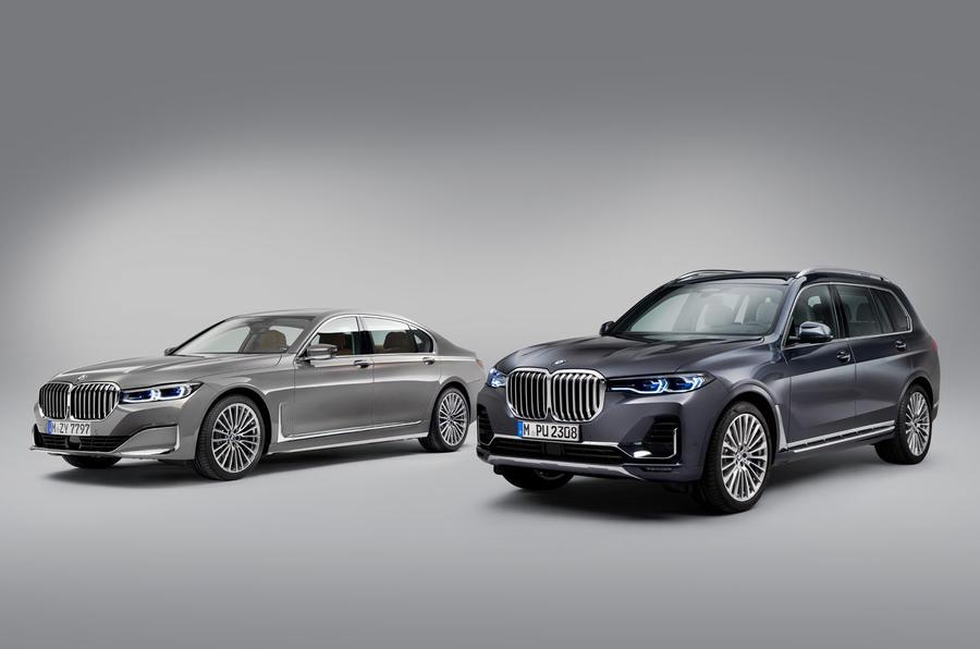 Novo Série 7 inspira-se no SUV X7 e completa gama de topo da BMW