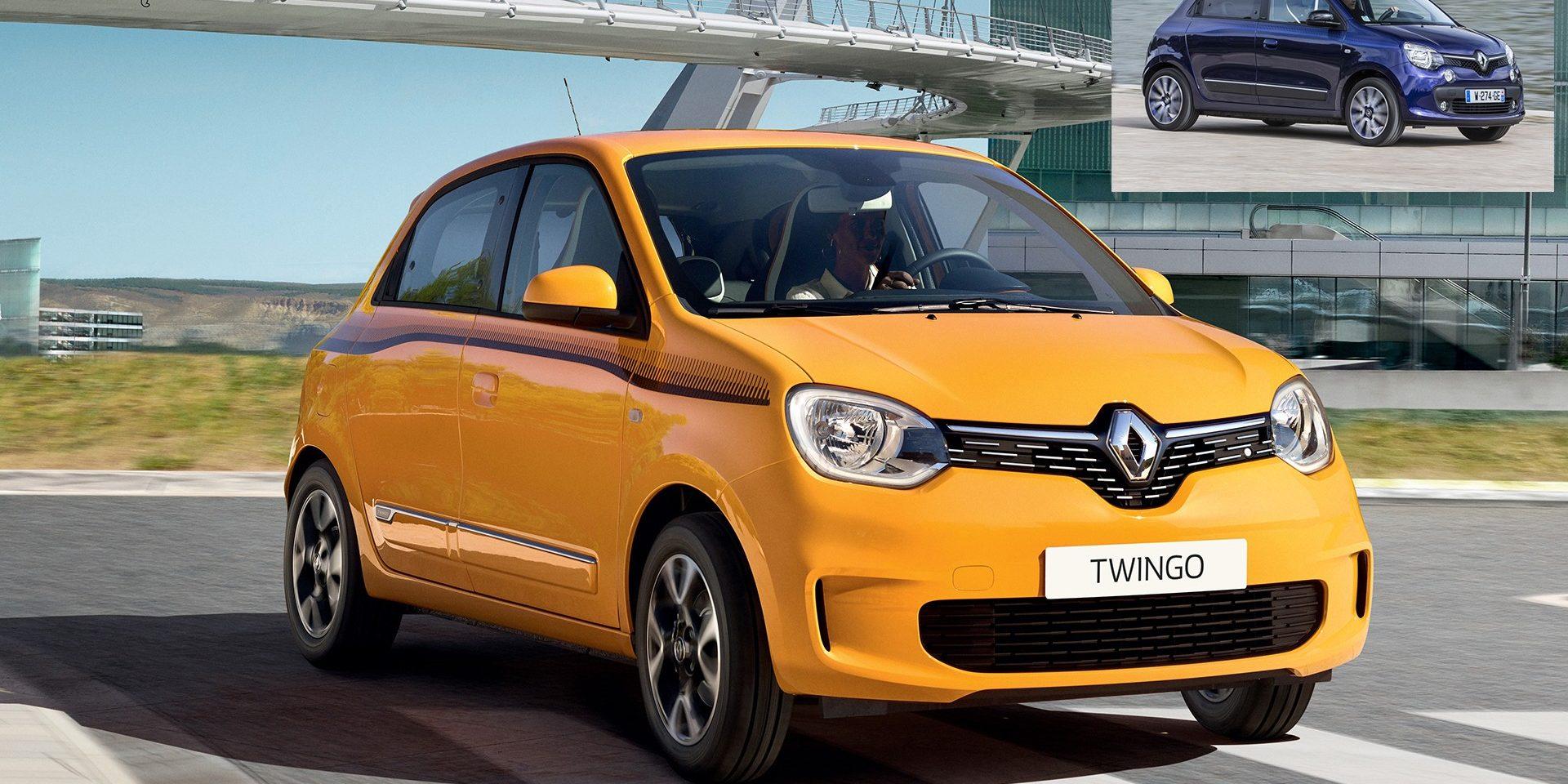 Renault oferece renovação à terceira geração do citadino Twingo