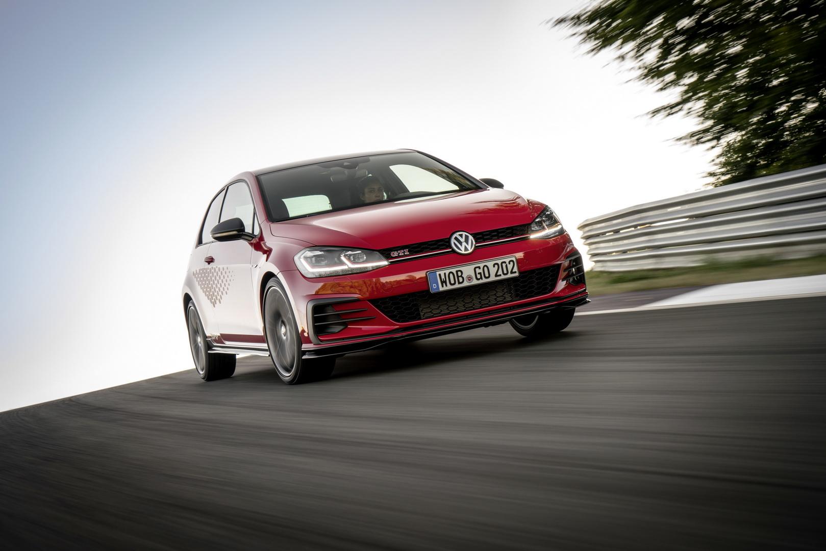 Volkswagen Golf GTI TCR foi revelado e funciona como alternativa ao Golf R
