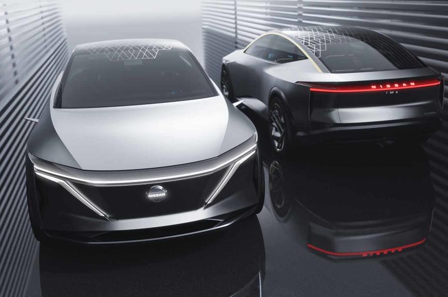 Salão de Detroit: Nissan IMs Concept é um novo conceito de carro e uma resposta à VW ID