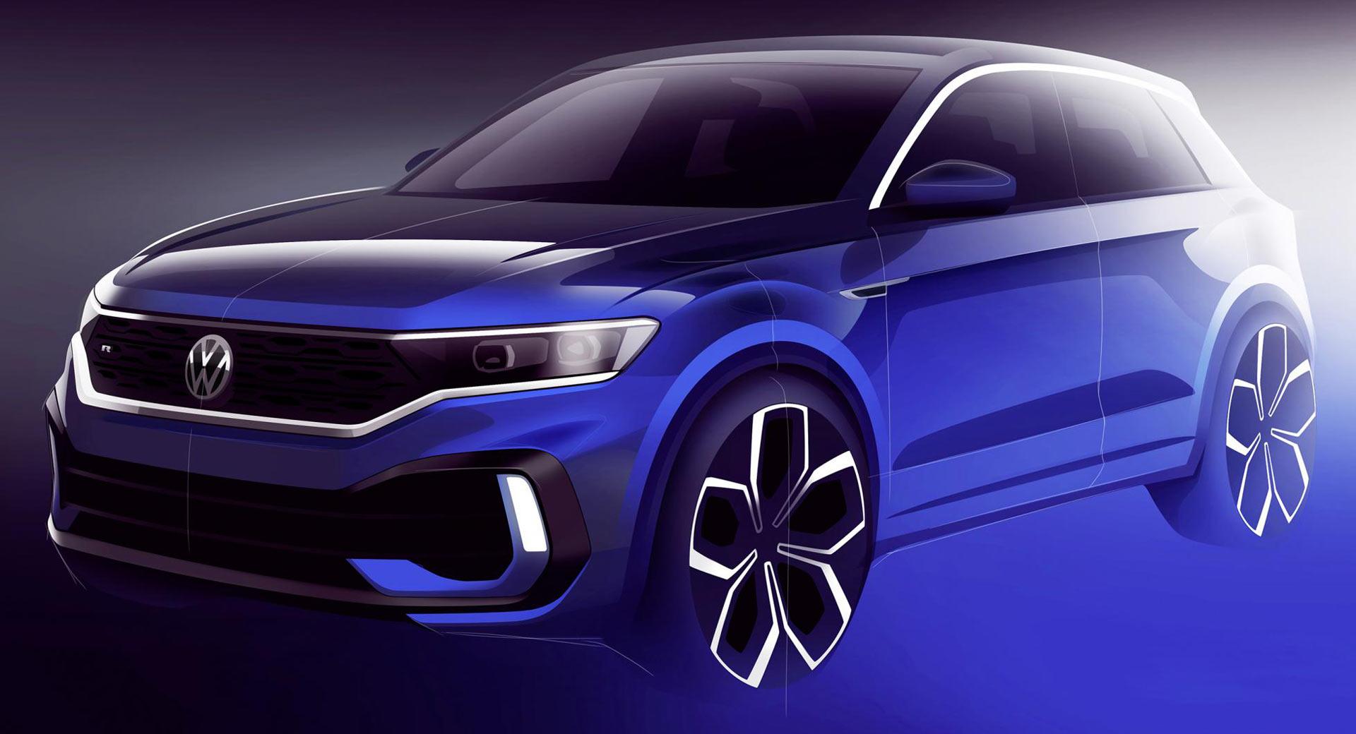 VW T-Roc R será uma realidade, terá mais de 300 CV e será revelado em Genebra