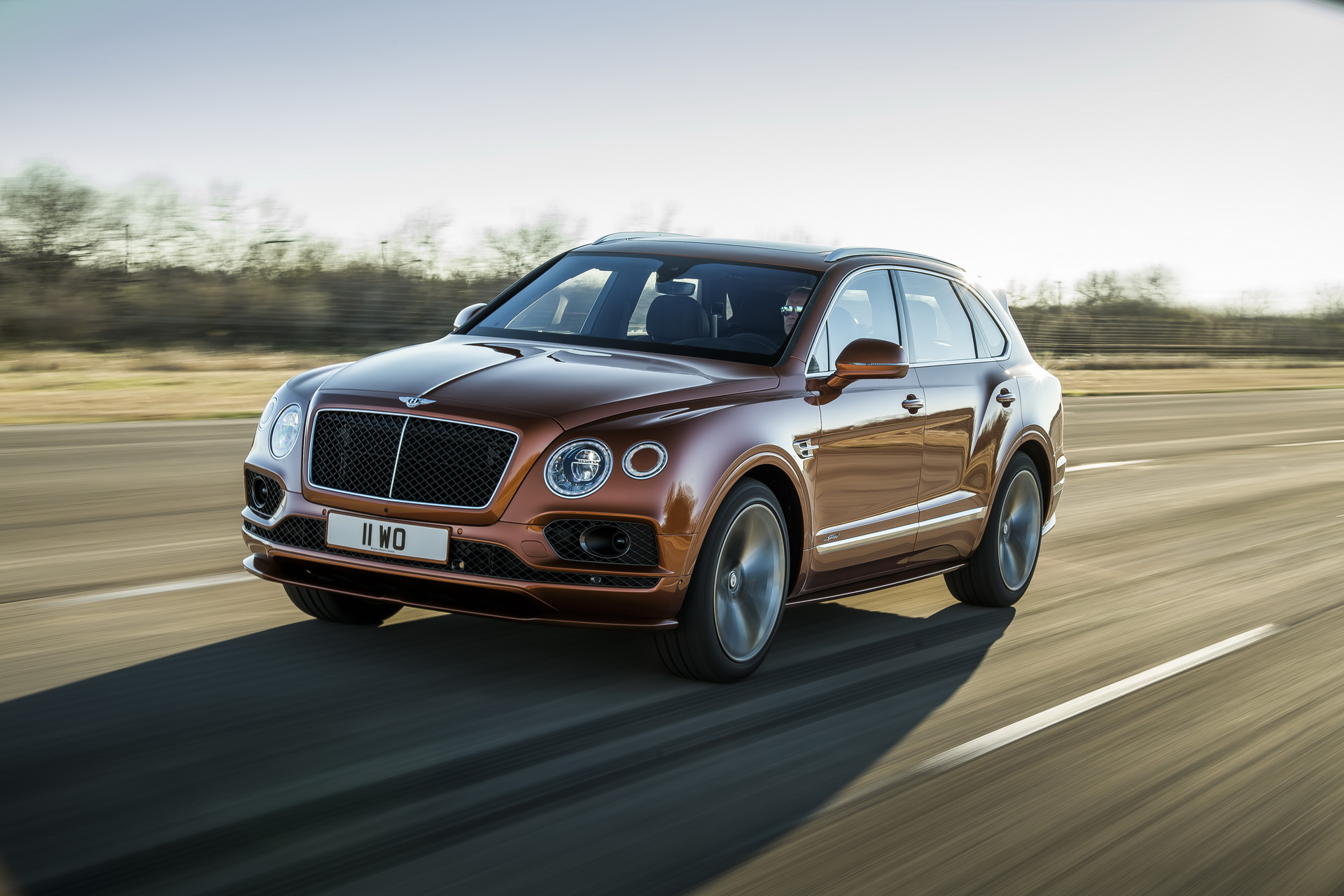 Bentley Bentayga Speed é o SUV mais rápido do mundo