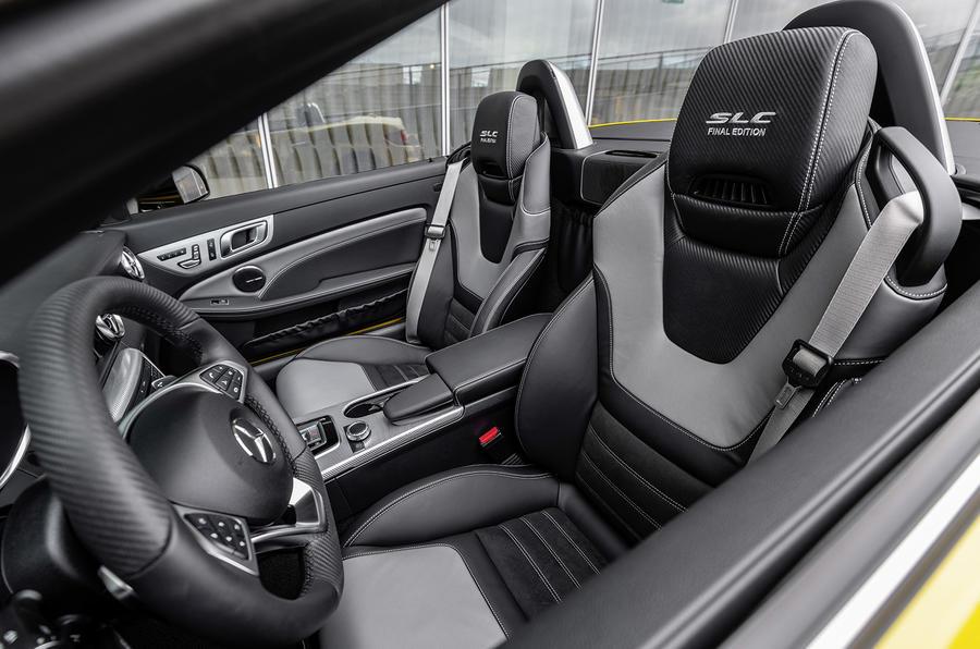 Mercedes-Benz SLC Final Editin (R172), 2019