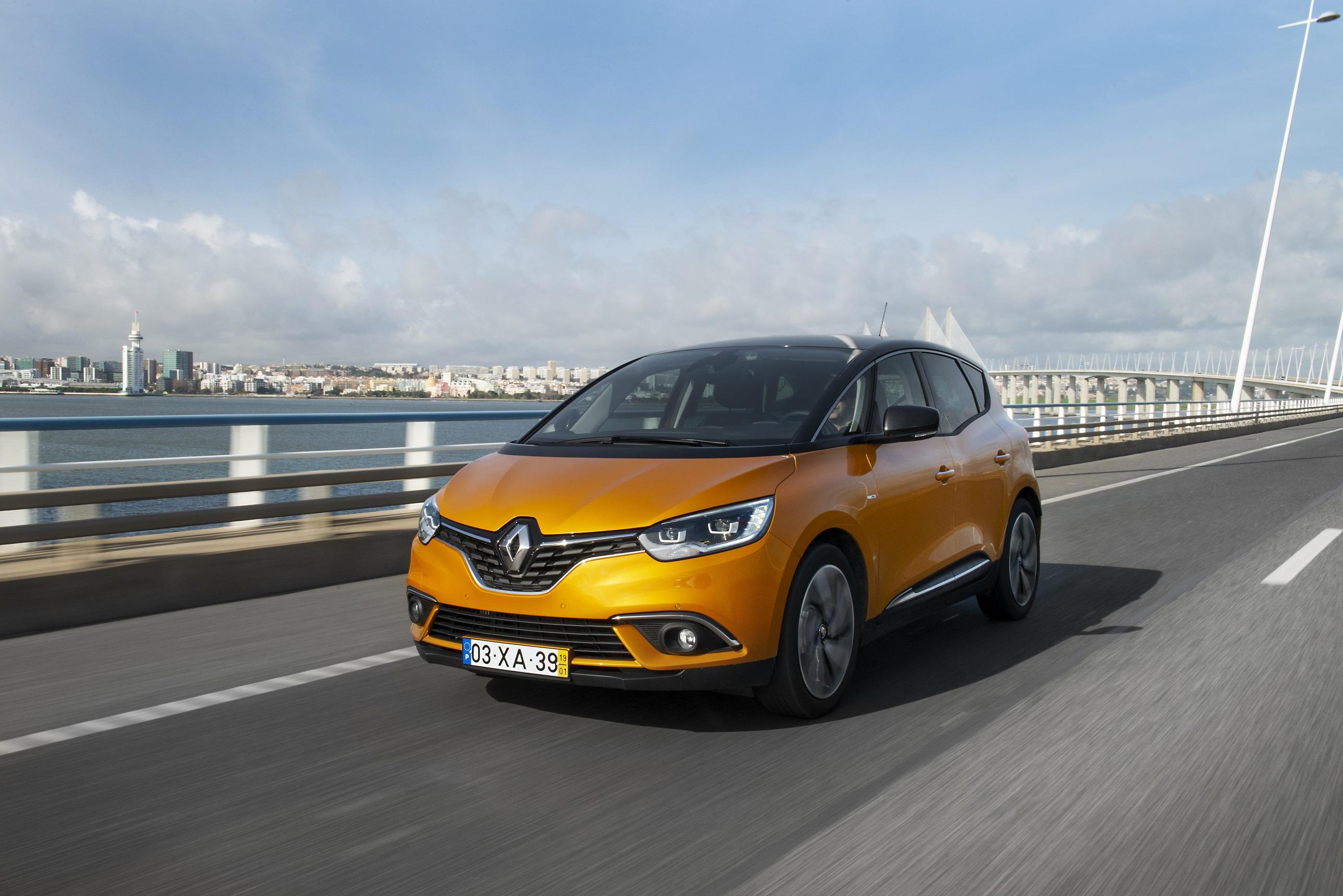 Apresentação: novo Renault Scénic