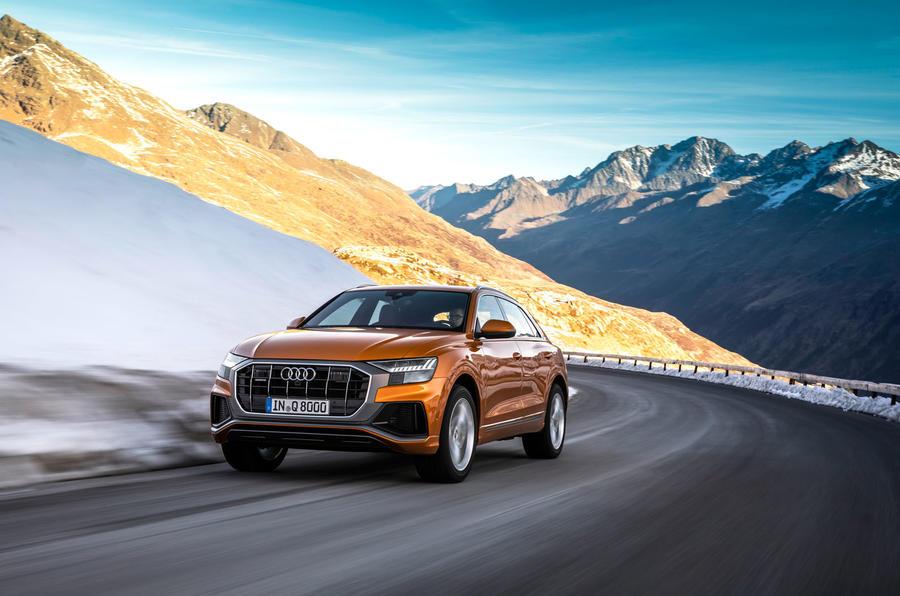 Audi Q8 oferece novo motor V6 a gasolina com 340 CV