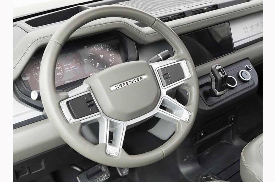 Será assim o interior do Land Rover Defender que será revelado no final do ano