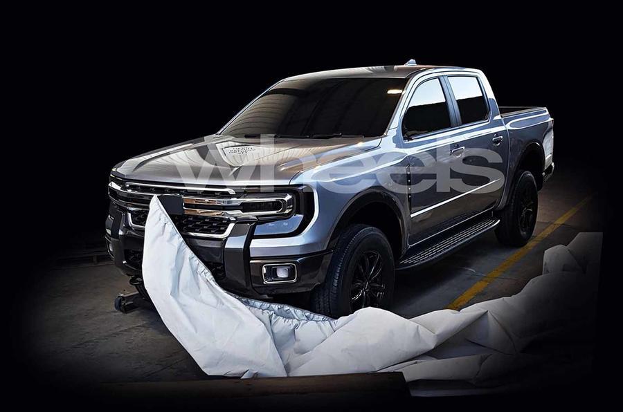 """A nova Ford Ranger """"verteu"""" para a internet e será assim"""