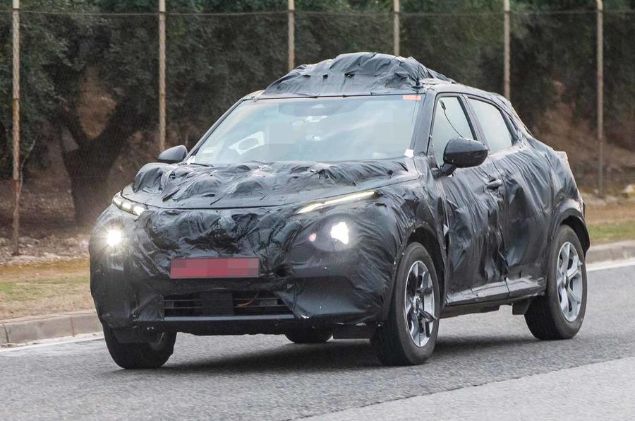 Substituto do Nissan Juke está na fase final de testes para ser revelado este ano