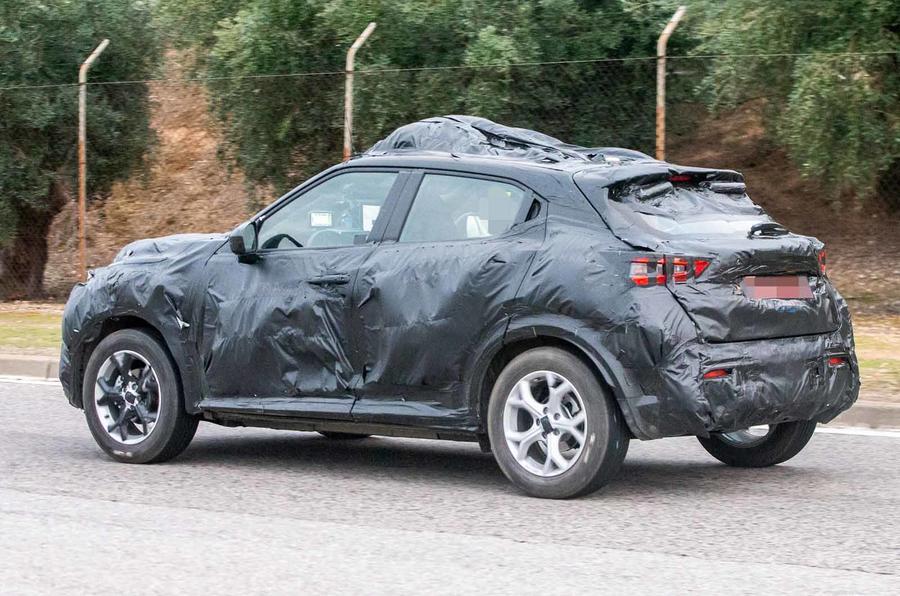 Substituto do Nissan Juke está na fase final de testes ...