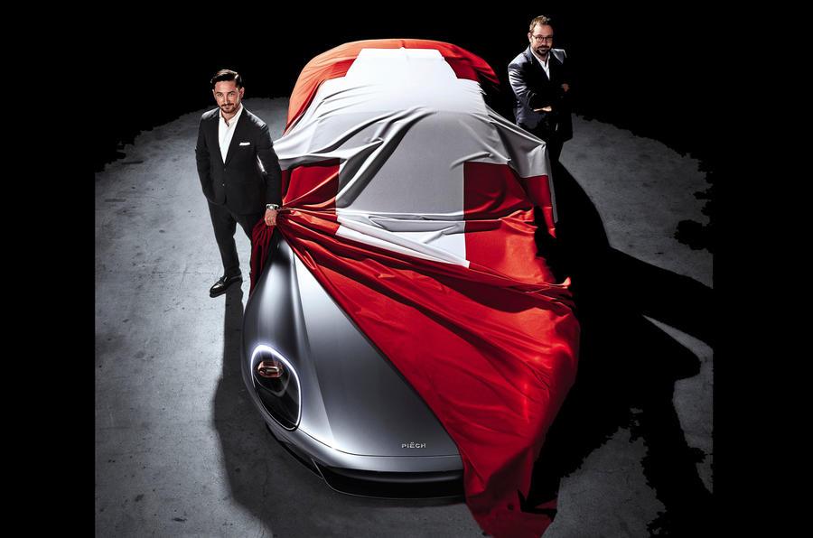 Piech Automotive vai se apresentar no Salão de Genebra com um coupé desportivo chamado Mark Zero
