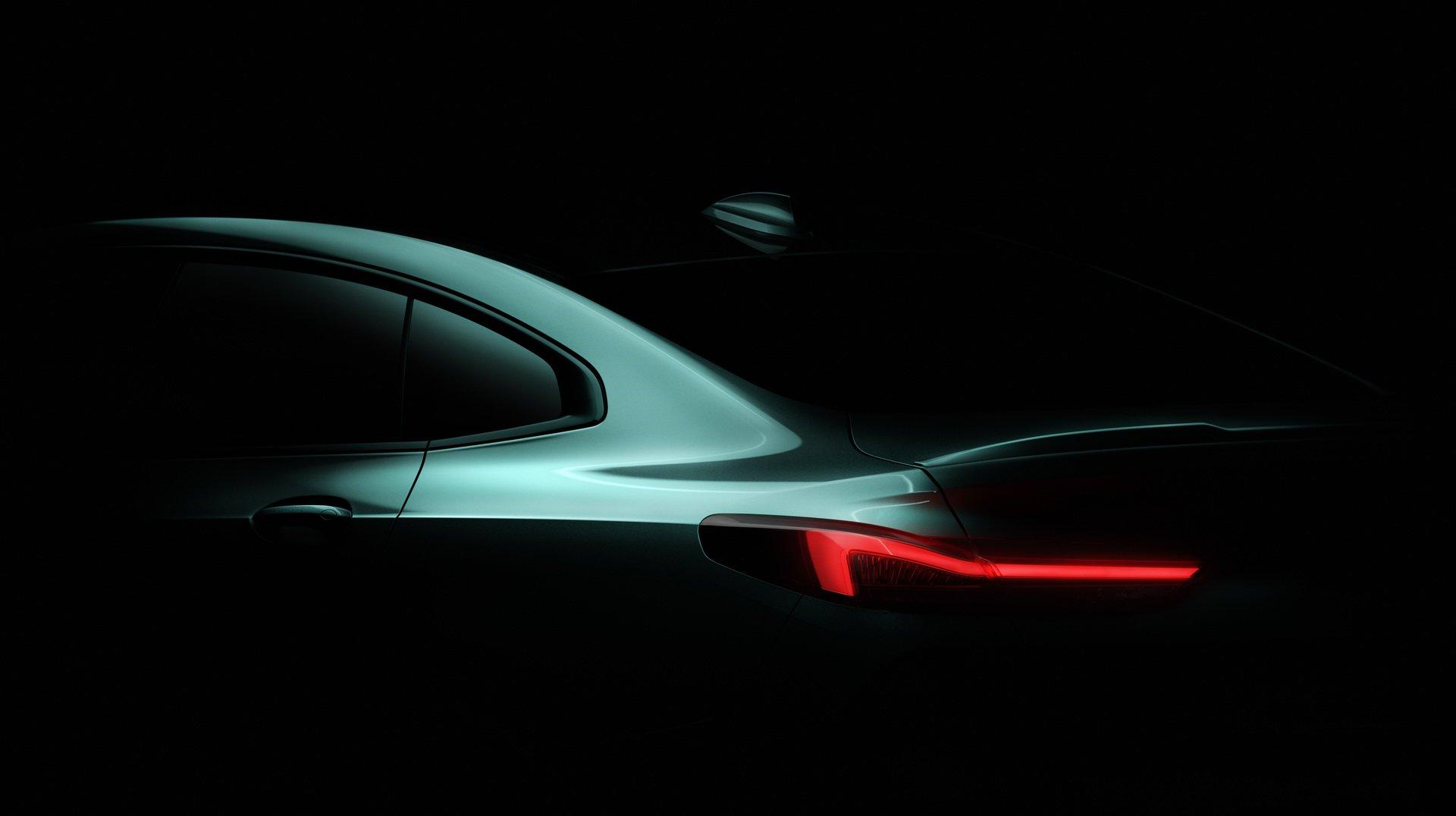 BMW mostra primeira imagem do novo Série 2 Gran Coupé