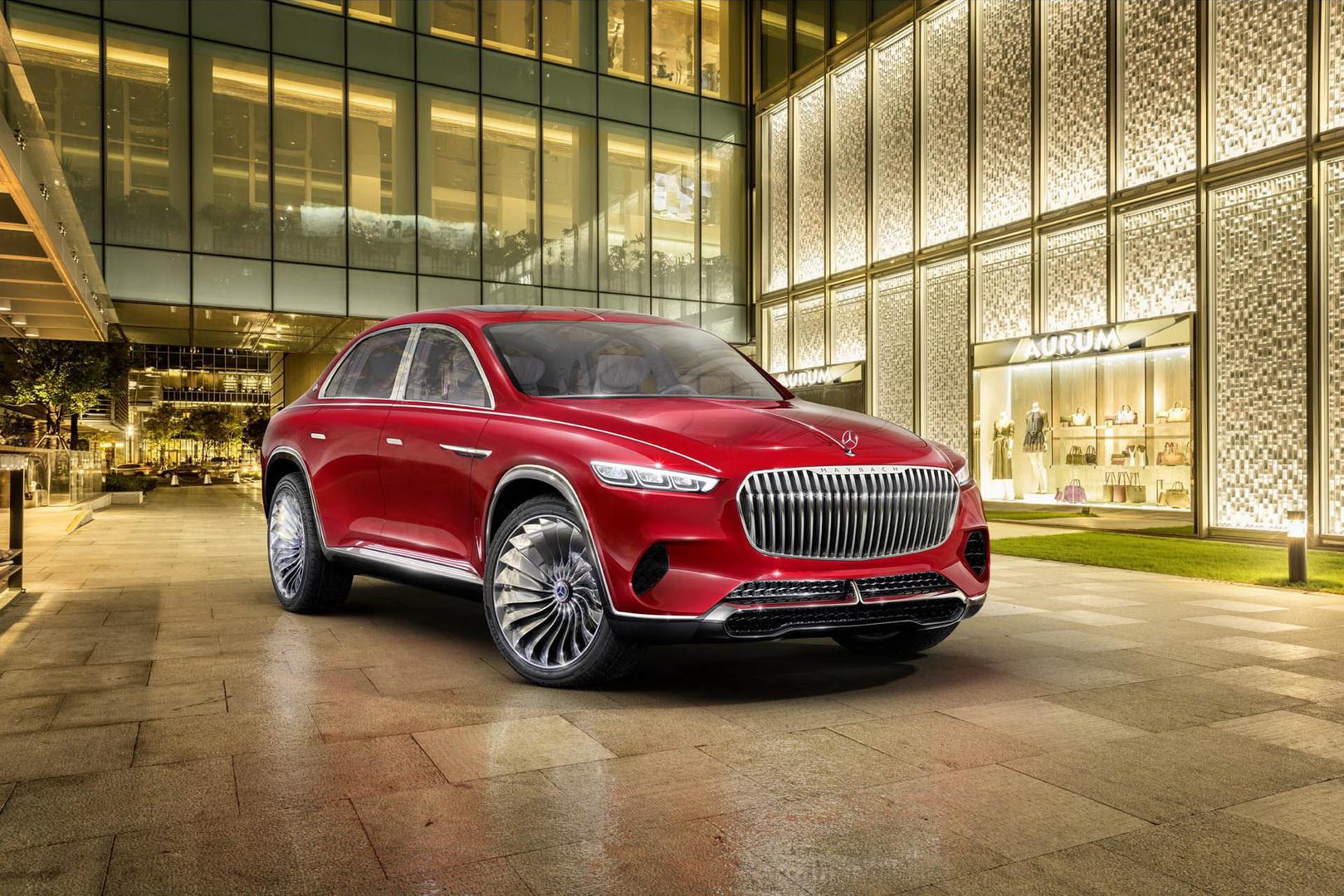 Range Rover Sport >> Mercedes quer entrar no mercado dos SUV de luxo com ...