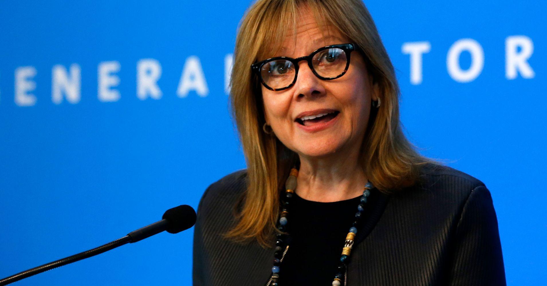 Administração da General Motors será, maioritariamente, feminina