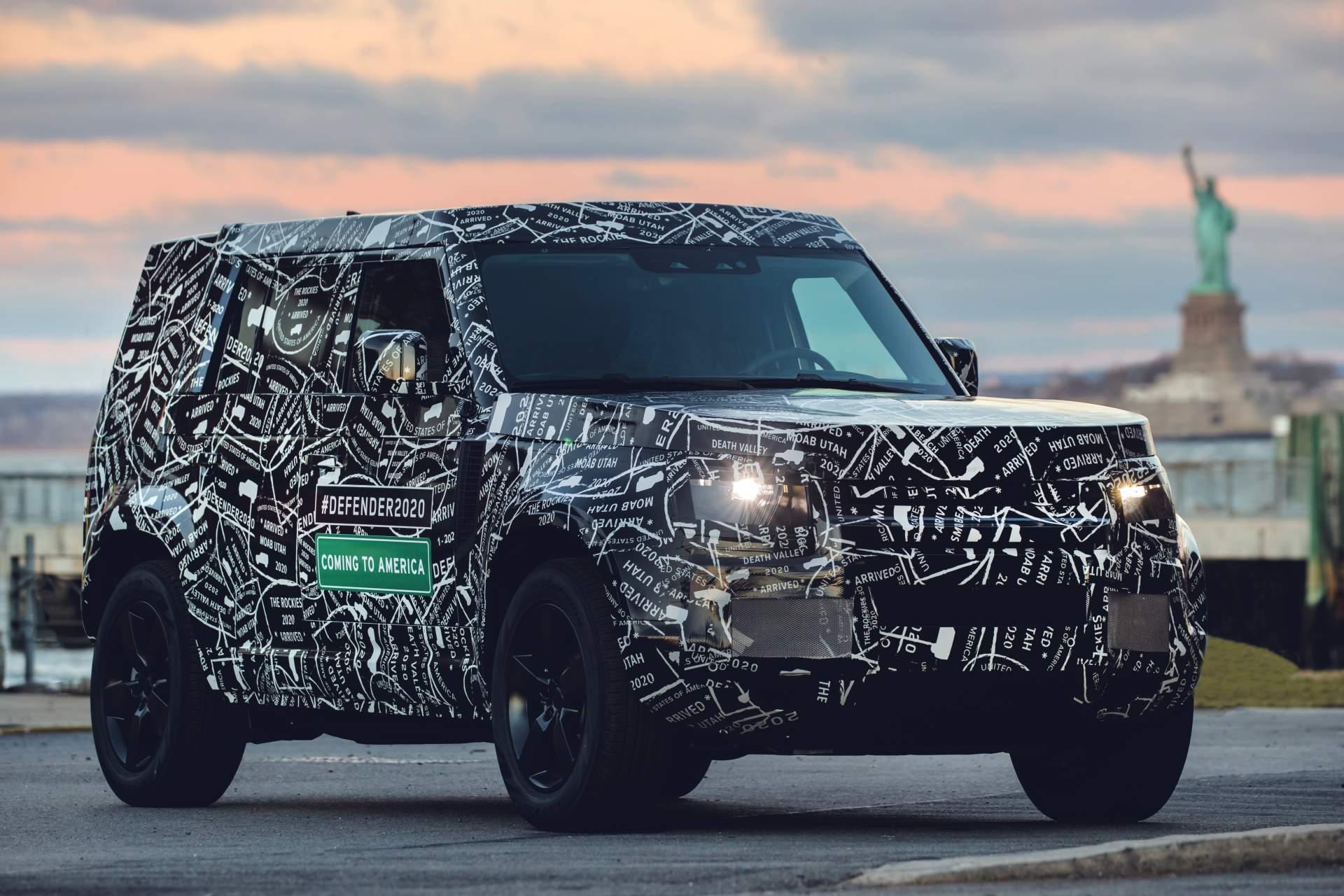 Confirmado: Land Rover Defender lançado em setembro e entregas em 2020