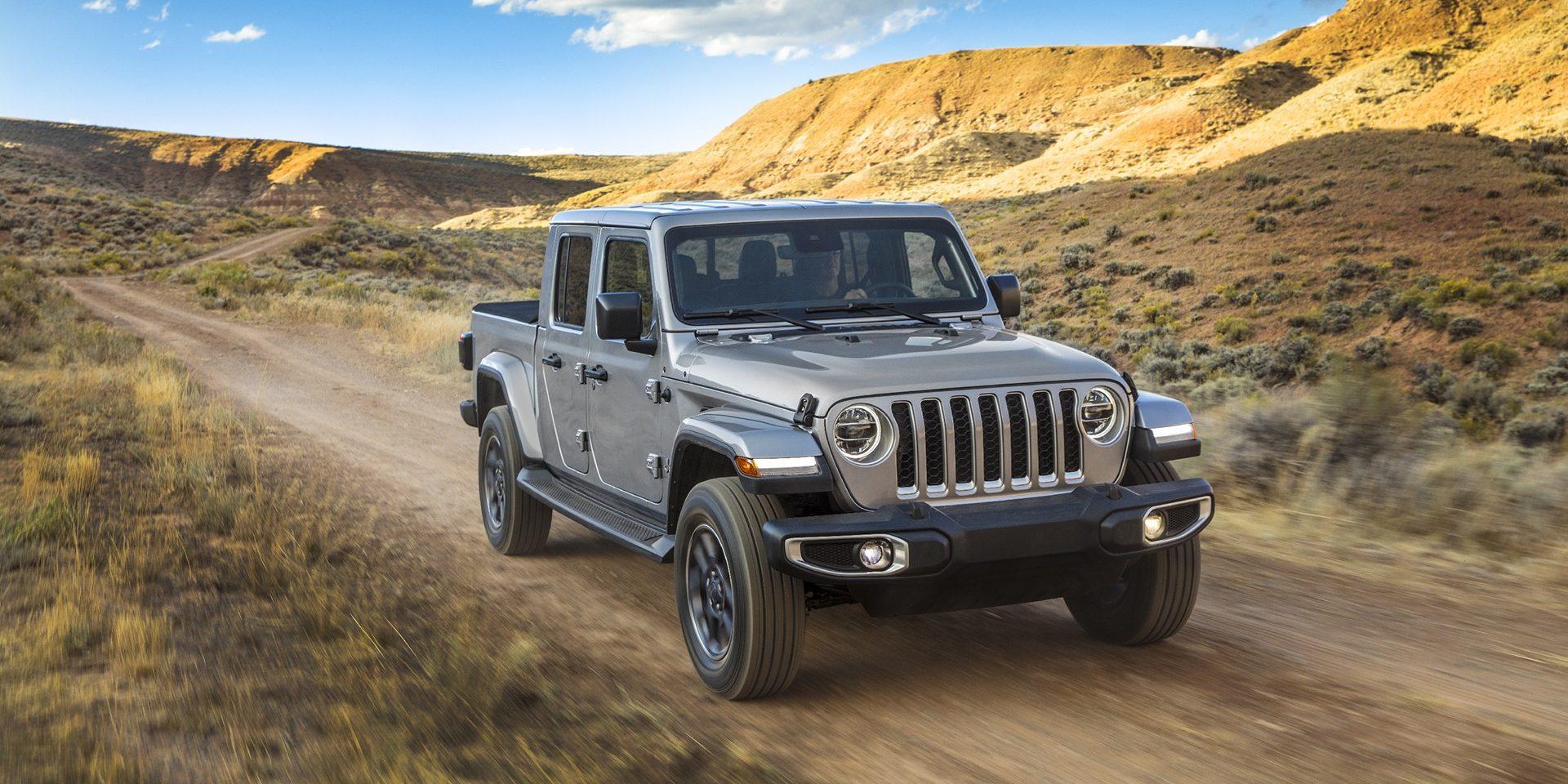 "Jeep Gladiator, a ""pick-up"" da marca americana vai desembarcar na Europa"
