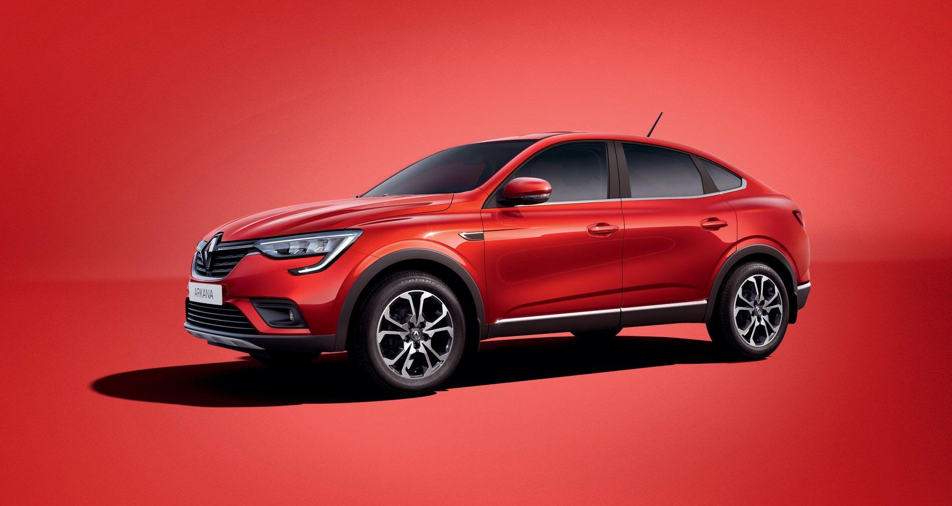 Renault Arkana: o SUV mais giro da Renault é só para os russos