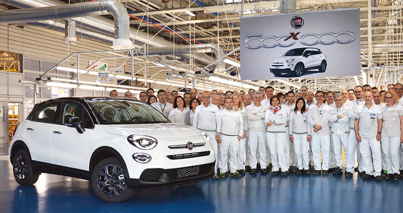 Fiat 500X bate recorde de produção com 500 mil unidades