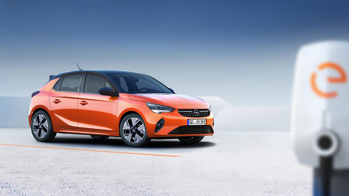 Aqui está a quinta geração do Opel Corsa o primeiro elétrico da marca e o primeiro feito com a PSA
