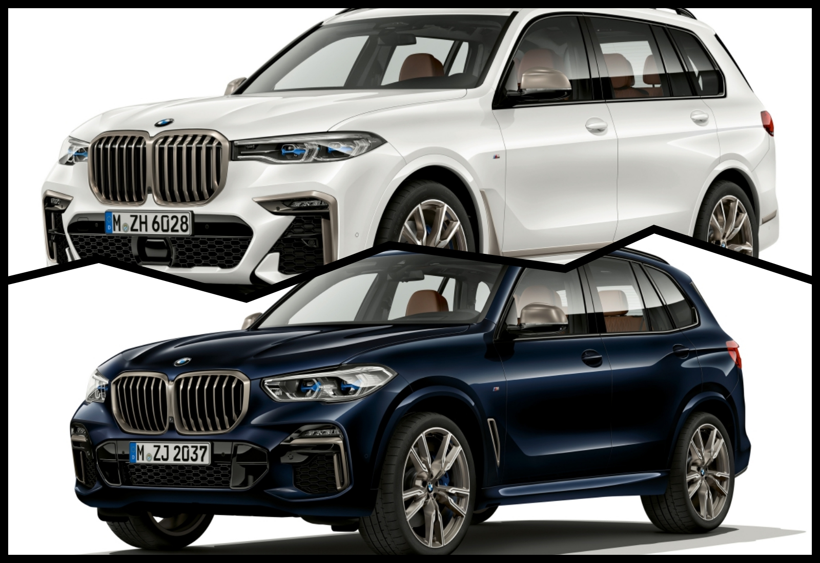 BMW revela X5 e X7 M50i, modelos SUV com 530 CV