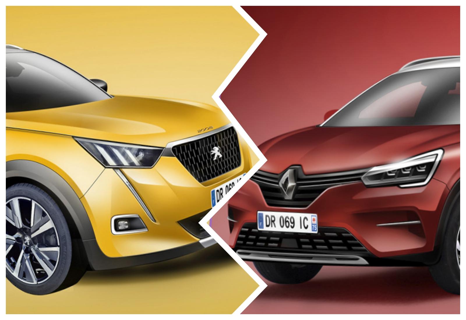 Peugeot 2008 ou Renault Captur: qual será o melhor na segunda geração?