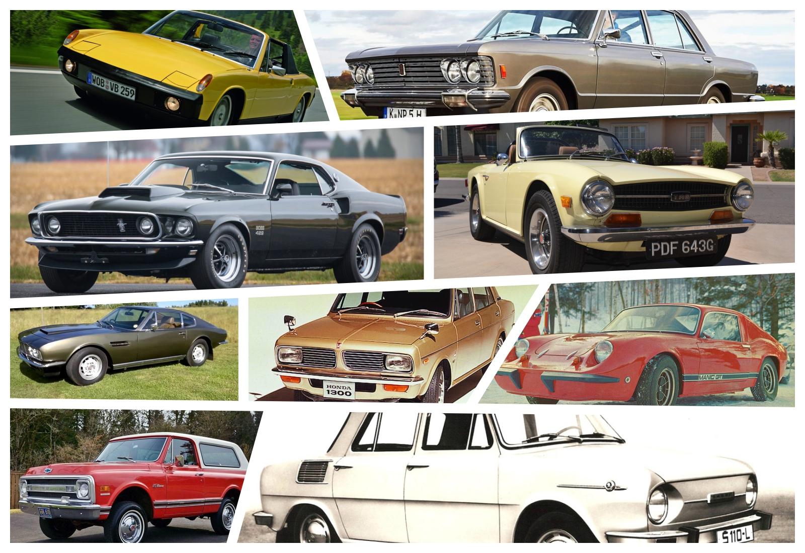 Recorda-se dos melhores carros lançados há 50 anos?
