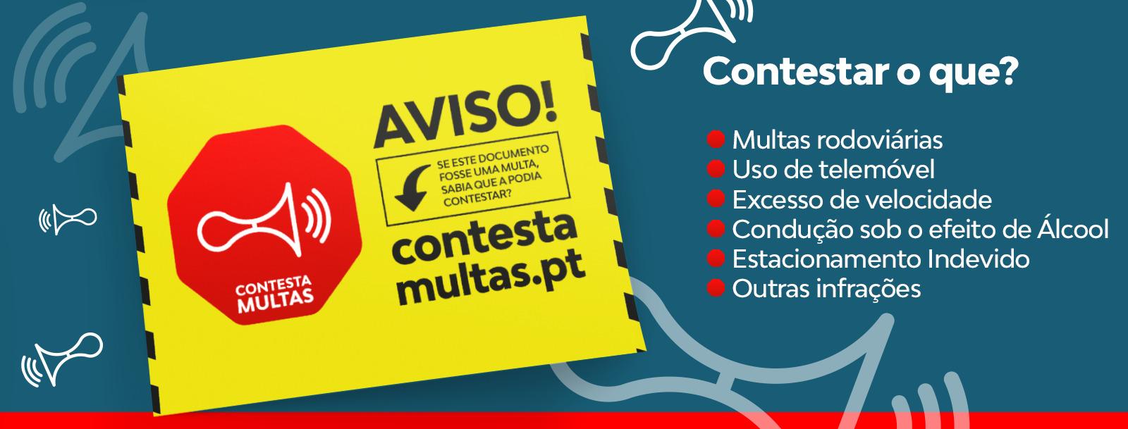 """Conhece o """"Contesta Multas"""", serviço online para contraordenações rodoviárias?"""