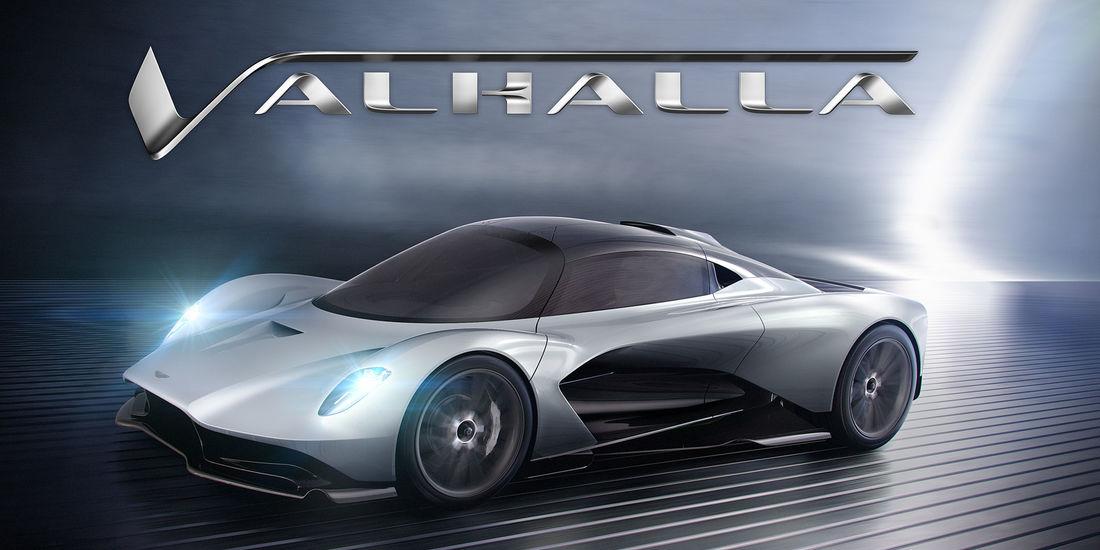 Aston Martin Valhalla é o segundo hiperdesportivo feito com a RedBull
