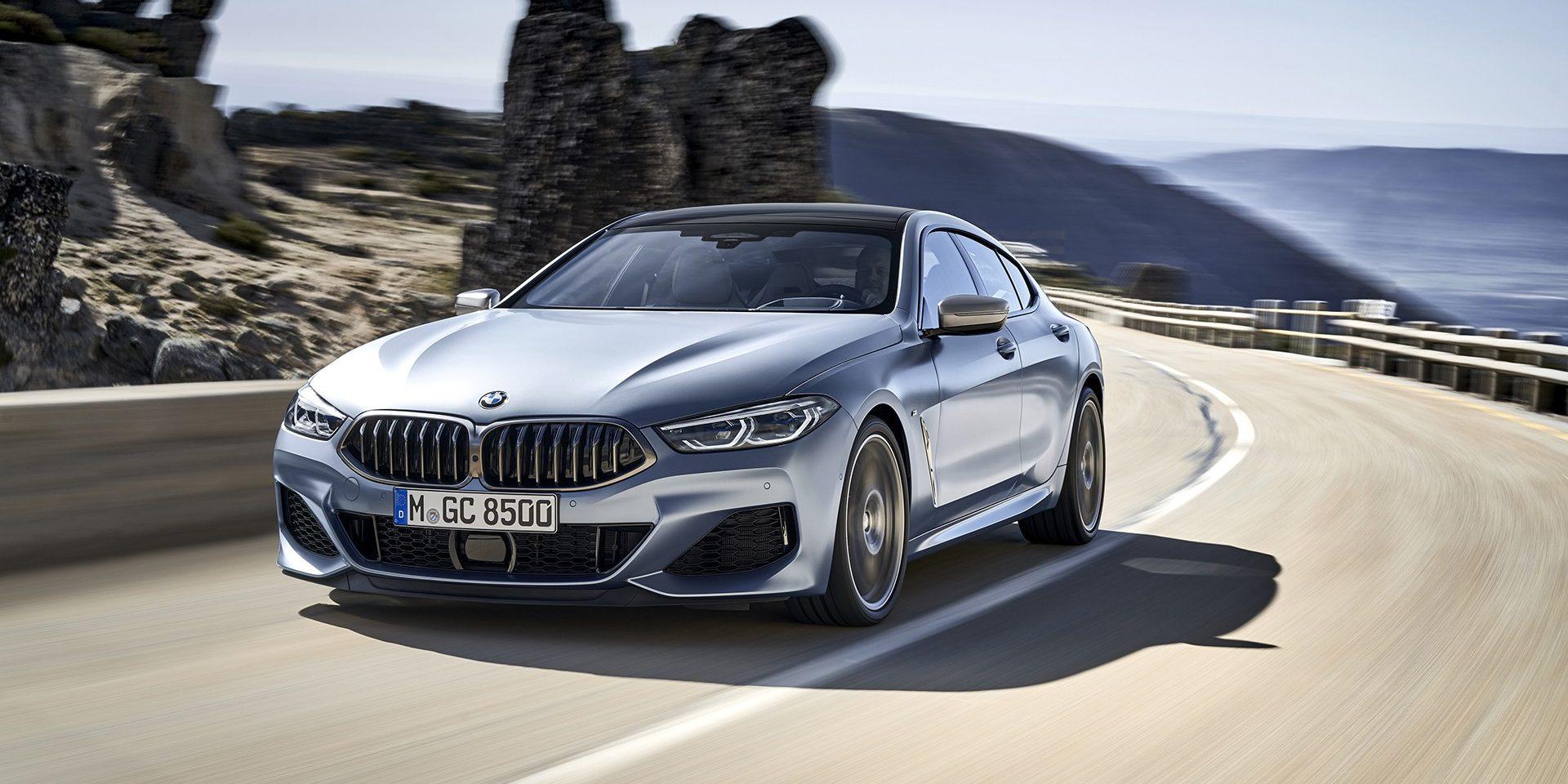 Série 8 Gran Coupé revelado pela BMW