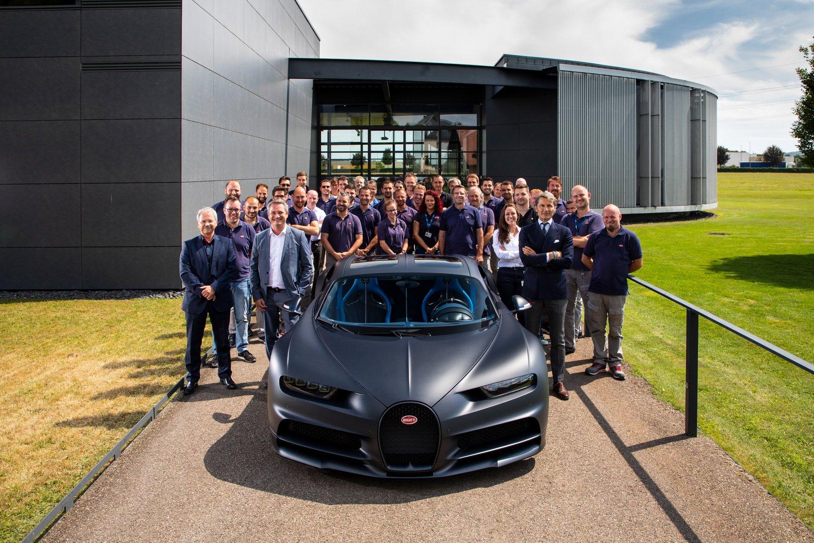 Bugatti Chiron chegou às 200 unidades produzidas