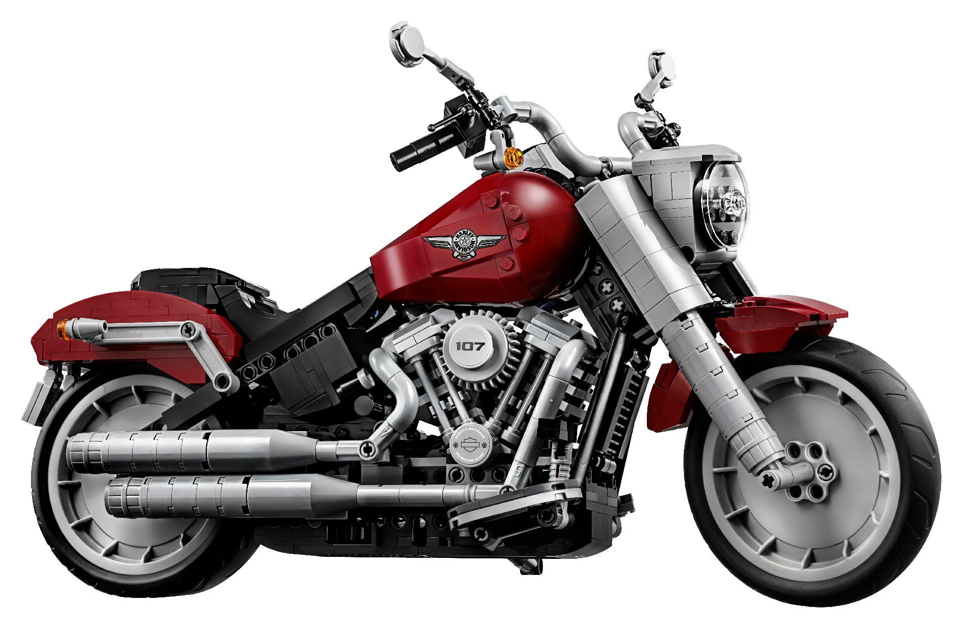 """Lego volta a """"atacar"""" agora com uma Harley Davidson Fat Boy"""