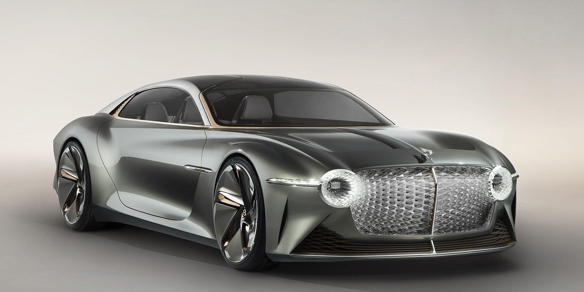 Bentley EXP 100 GT: o protótipo do centenário da casa britânica