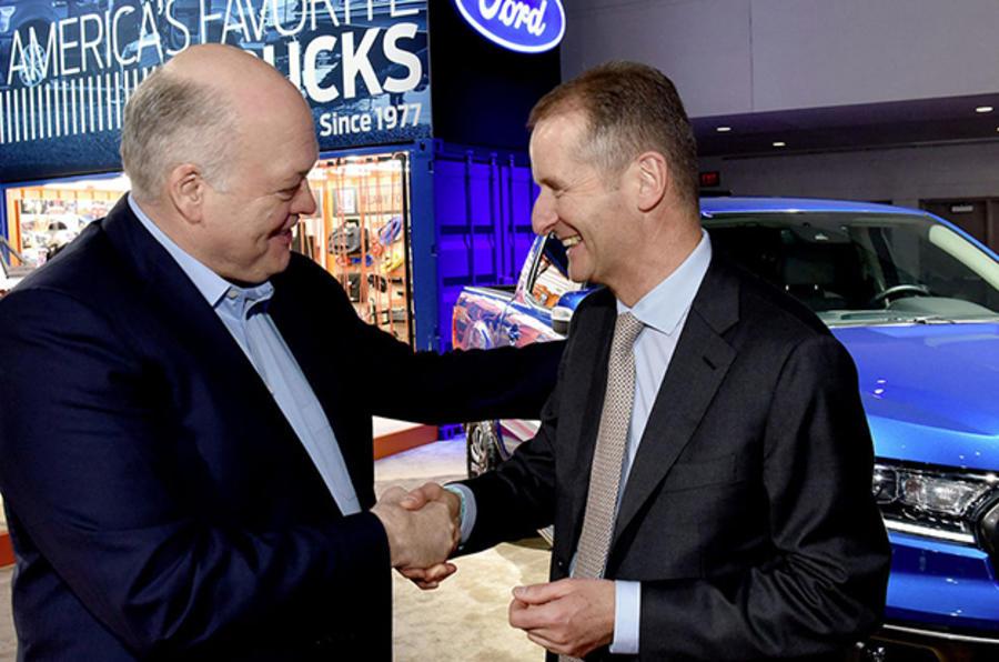 Ford e VW confirmam acordo de expansão da sua aliança global
