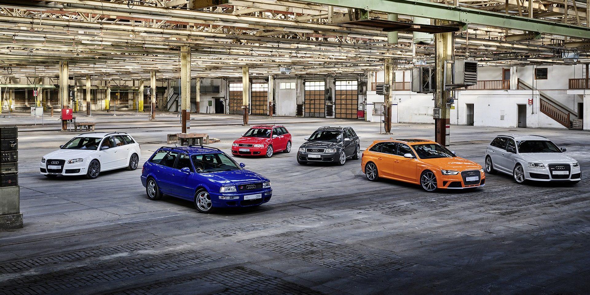Audi Sport festeja 25 anos de carrinhas desportivas