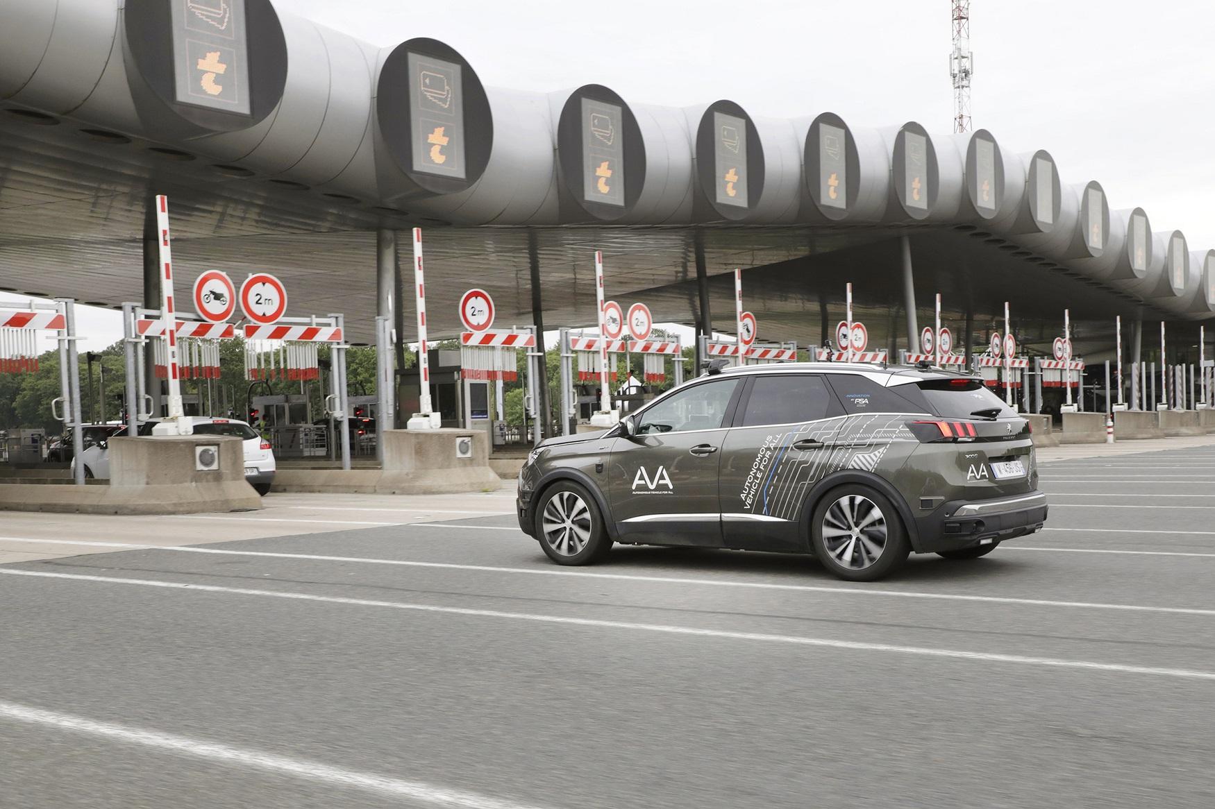 PSA Group e Vinci Autoroutes caminham rumo à mobilidade autónoma