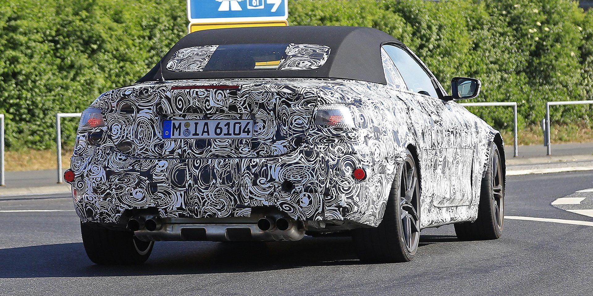 BMW M4 para já só com versão descapotável