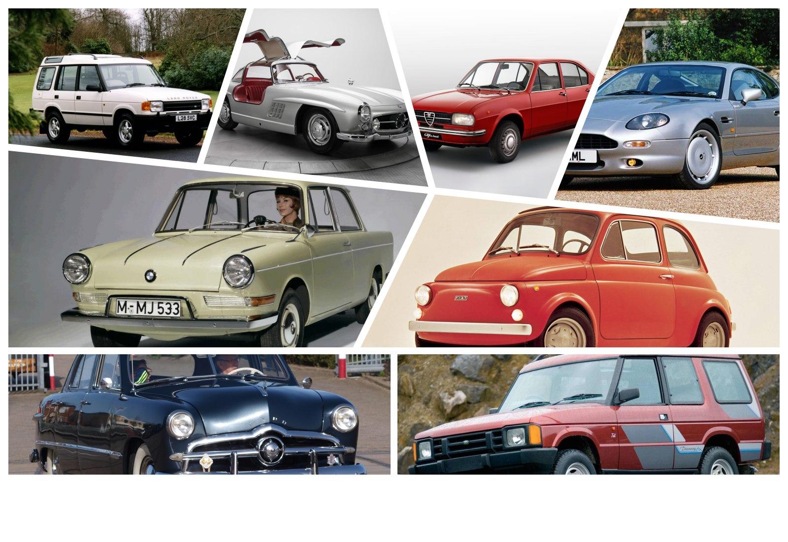 Conheça os carros que salvaram as suas marcas da falência