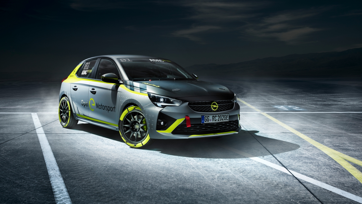 Opel revela o primeiro carro elétrico desenhado para os ralis