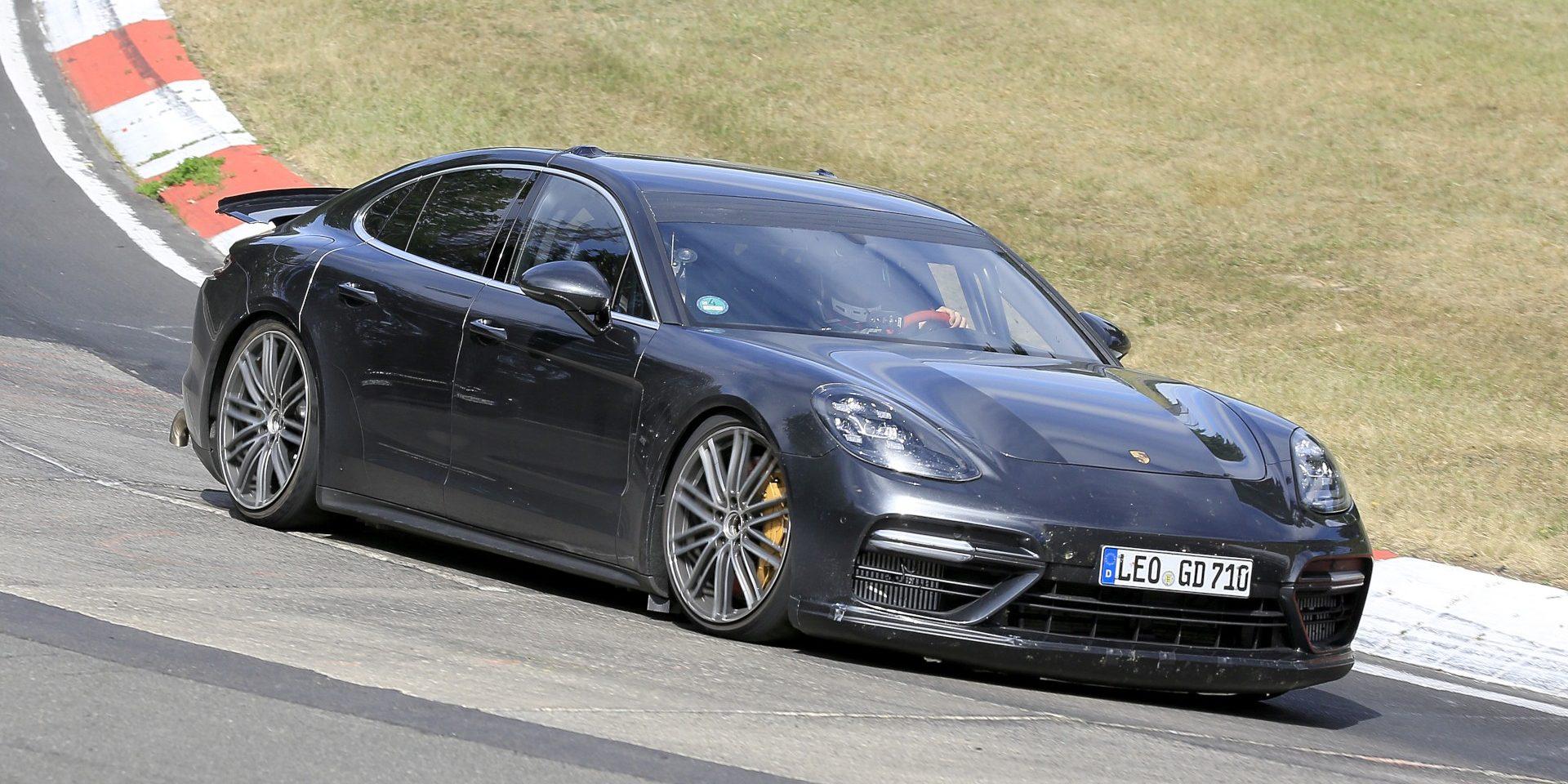 Estará a Porsche a ensaiar um Panamera com 820 CV?