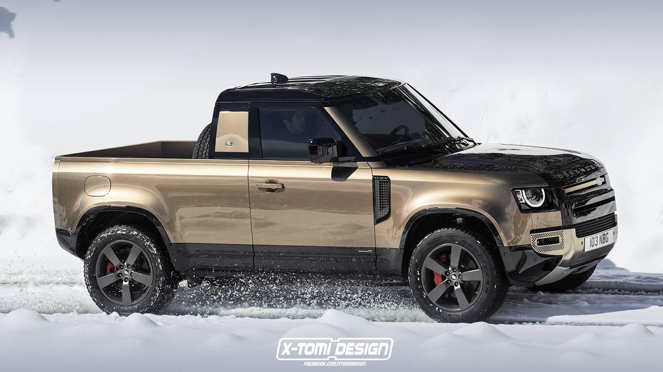 É uma pena que a Land Rover tenha posto na prateleira o projeto da pickup Defender