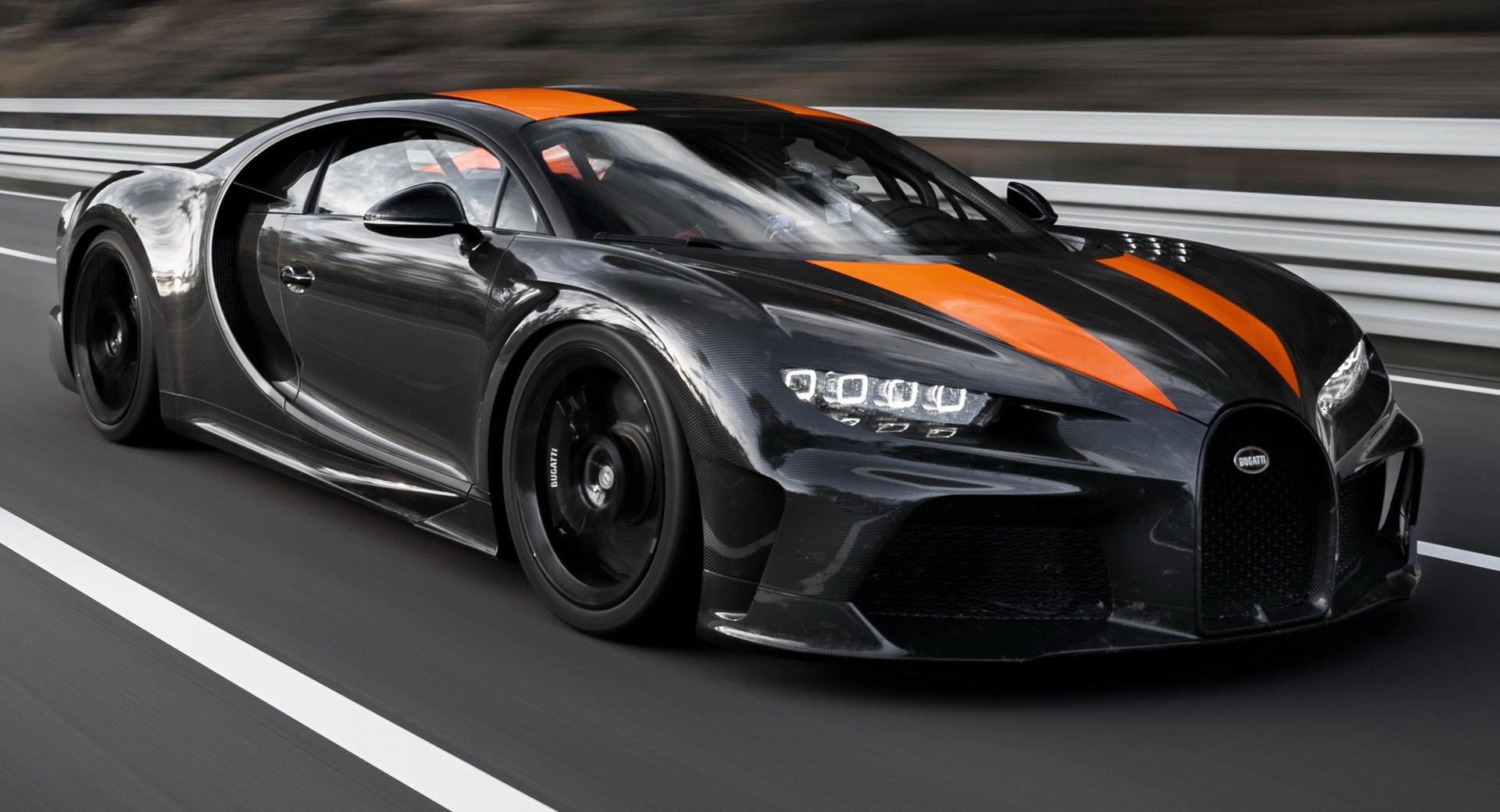 Bugatti confirma que vão aparecer mais versões especiais do Chiron