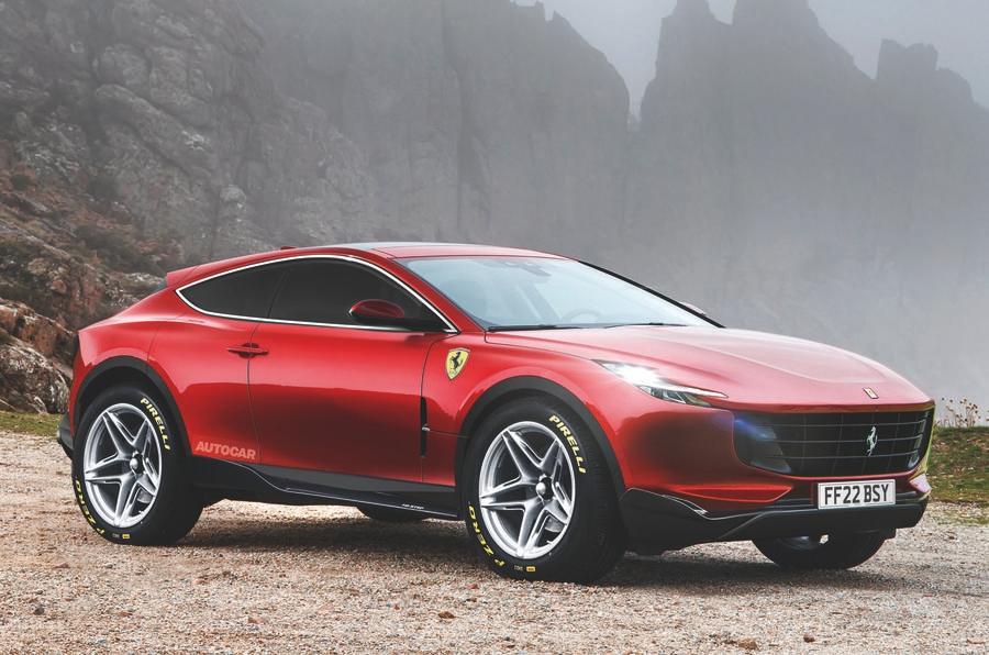 Purosangue chega em 2022 e a Ferrari reconhece que desenvolvimento tem sido duro