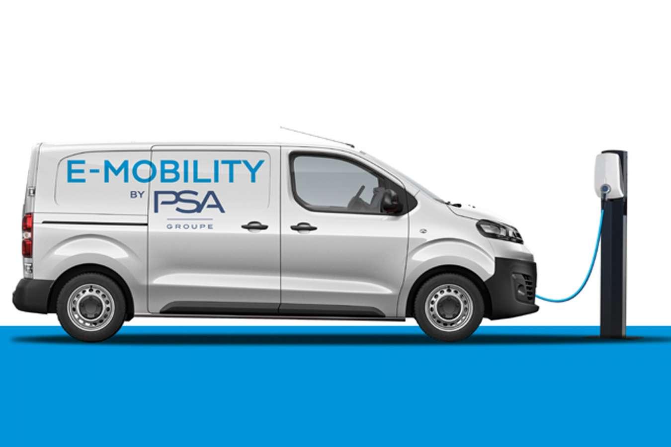 Veículos comerciais PSA vão ter versões elétricas em 2020