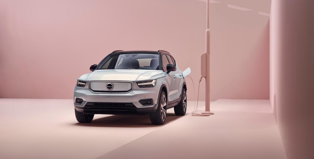 Volvo tem como objetivo ser uma marca exclusivamente elétrica em 20 anos