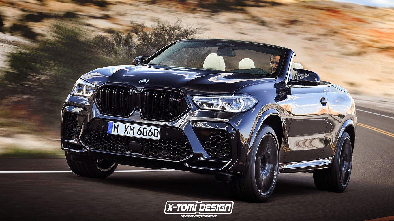 E que tal um BMW X6 M descapotável? Fará sentido?!