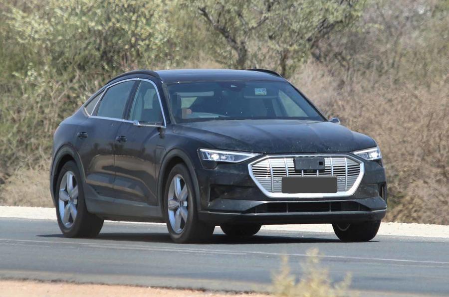 """Audi e-tron Sportback """"despe-se"""" de segredos e de camuflagem"""